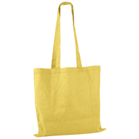 Yellow Basic Cotton Tote Thumb