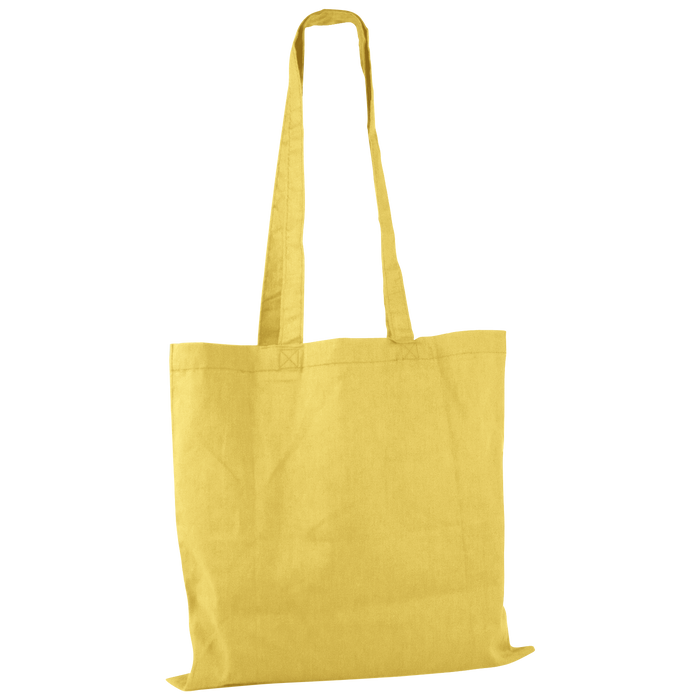 Yellow Basic Cotton Tote