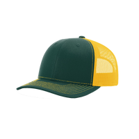 Dark Green/Gold Richardson Trucker Snapback Hat Thumb