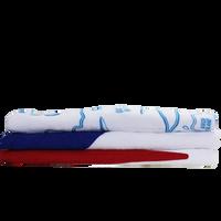 Budget White Beach Towel Thumb