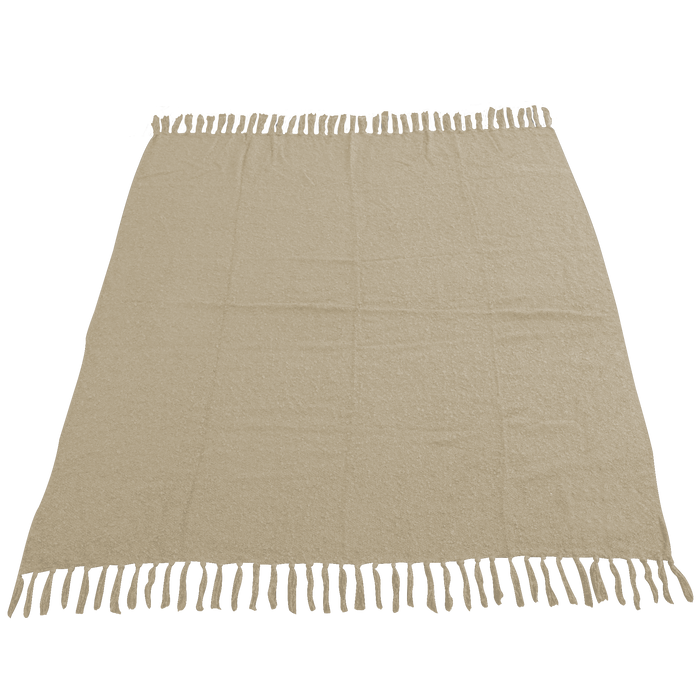 Sandalwood (20473) Fringed Woven Throw Blanket