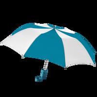 Teal/White Classic Umbrella Thumb