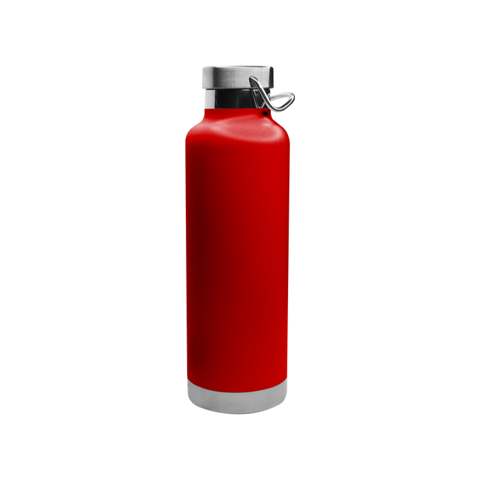 Matte Red Vacuum Insulated Canteen