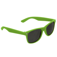 Lime Green Classic Color Sunglasses Thumb