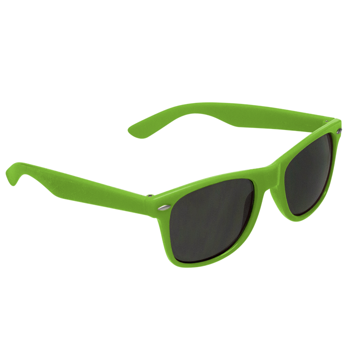 Lime Green Classic Color Sunglasses