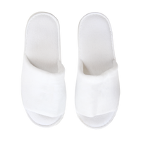 White Classic Velour Slippers Thumb