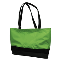 Lime Green Promenade Beach Bag Thumb
