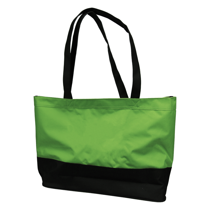 Lime Green Promenade Beach Bag