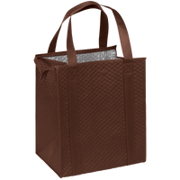 Brown Large Insulated Cooler Tote Thumb