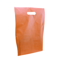 Tangerine Medium Frosted Die Cut Bag Thumb