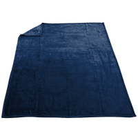 Navy Taos Microfleece Throw Thumb