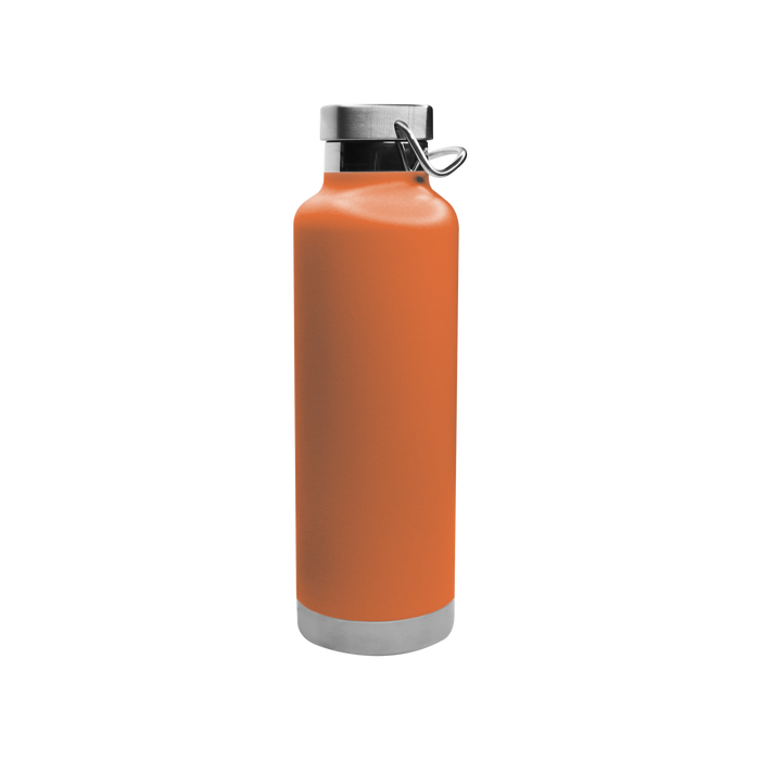 Matte Orange Vacuum Insulated Canteen