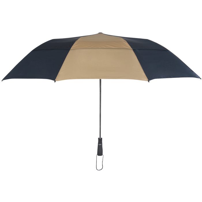 Navy/Tan Mercury Umbrella