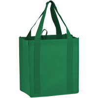 Green Little Storm Grocery Bag Thumb