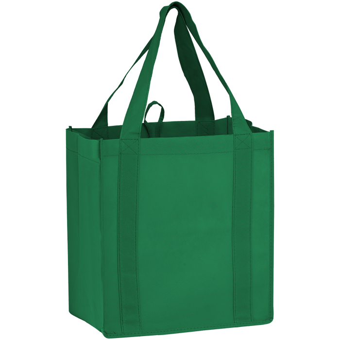 Green Little Storm Grocery Bag