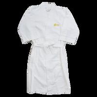 Cotton Waffle Weave Robe Thumb
