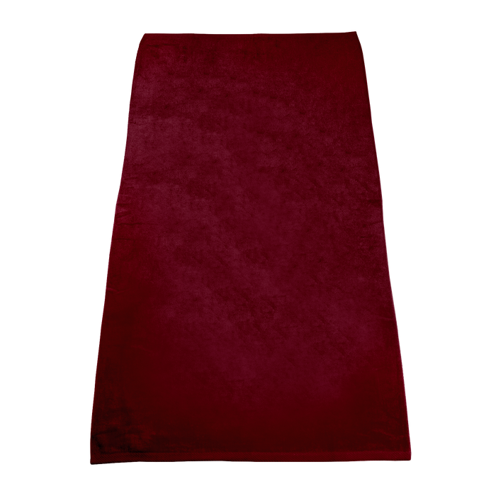 Maroon Classic Color Beach Towel