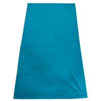 Turquoise Gypsea Color Beach Towel Thumb
