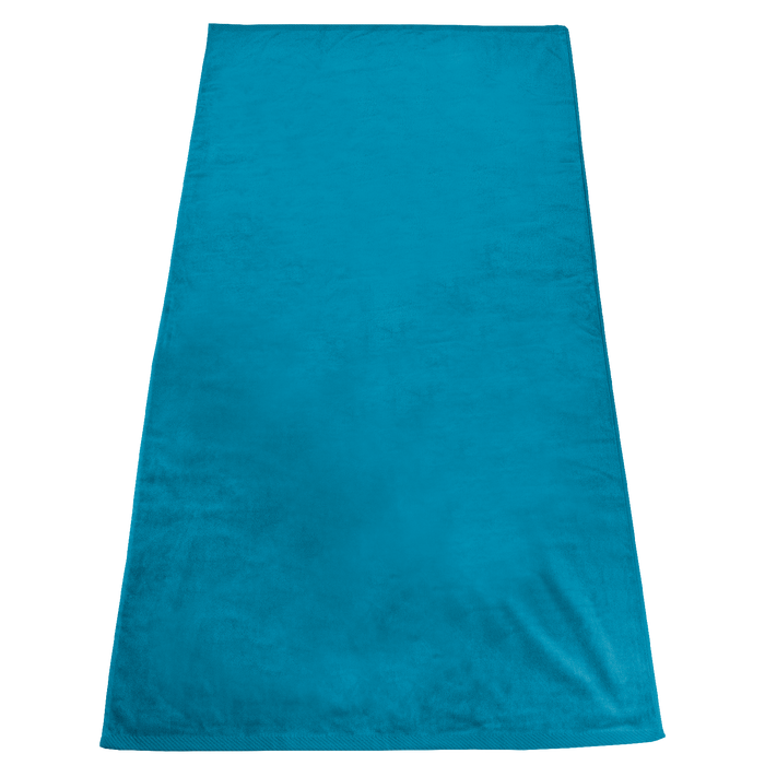 Turquoise Gypsea Color Beach Towel