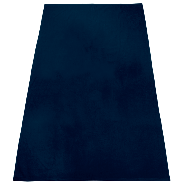 Navy Nautica Color Beach Towel
