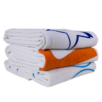 Value Line White Beach Towel Thumb