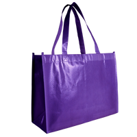 Purple Laminated Convention Tote Thumb