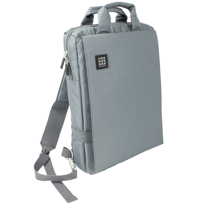 Gray Moleskine ID Vertical Bag for Digital Devices