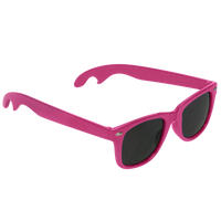 Pink Panama Bottle Opener Sunglasses Thumb