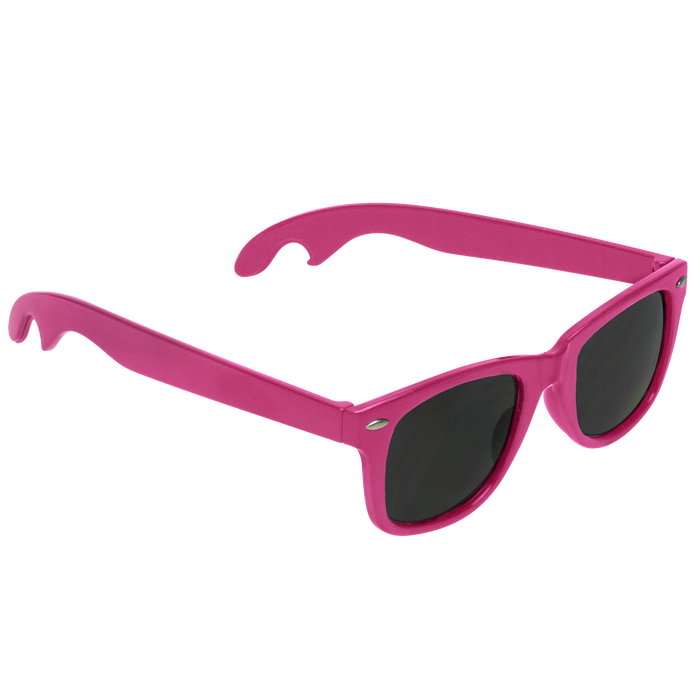 Pink Panama Bottle Opener Sunglasses