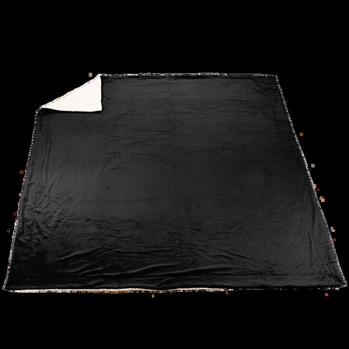 Black Denali Deluxe Throw Blanket