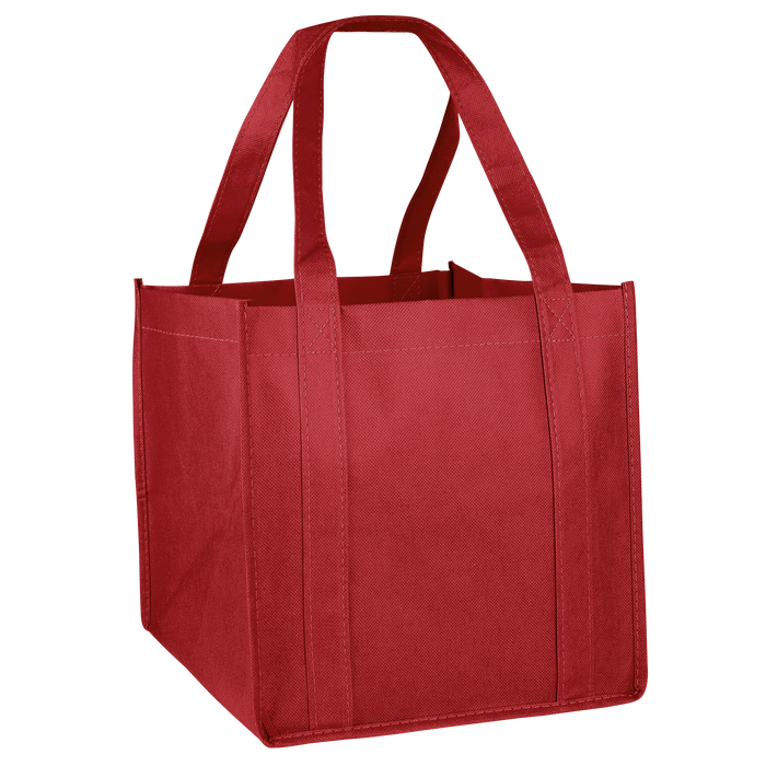 Red Cube Grocery Tote