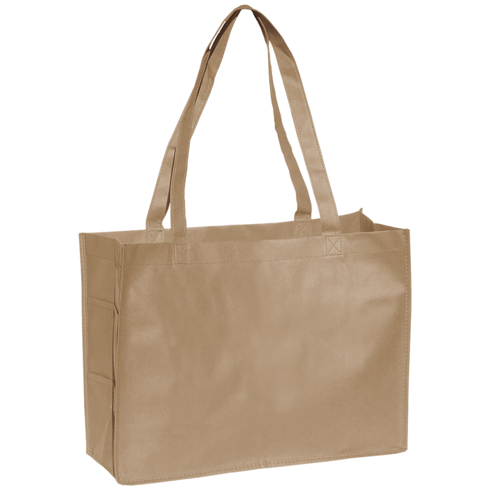 Light Khaki Convention Tote