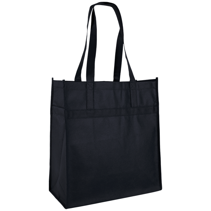 Black Little Tex Grocery Bag