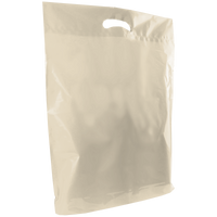 Ivory Large Die Cut Plastic Bag Thumb