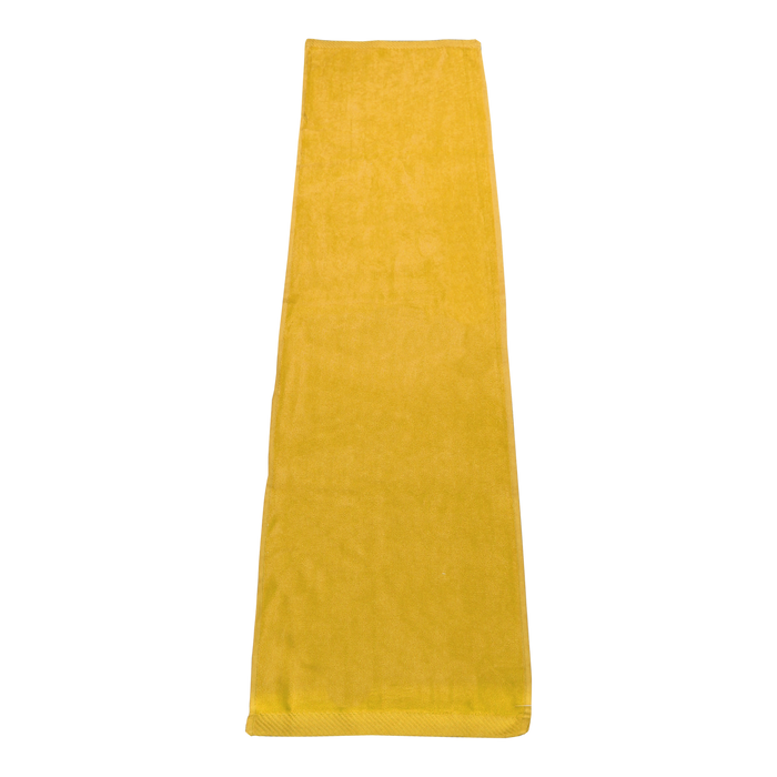 Yellow Endurance Color Fitness Towel