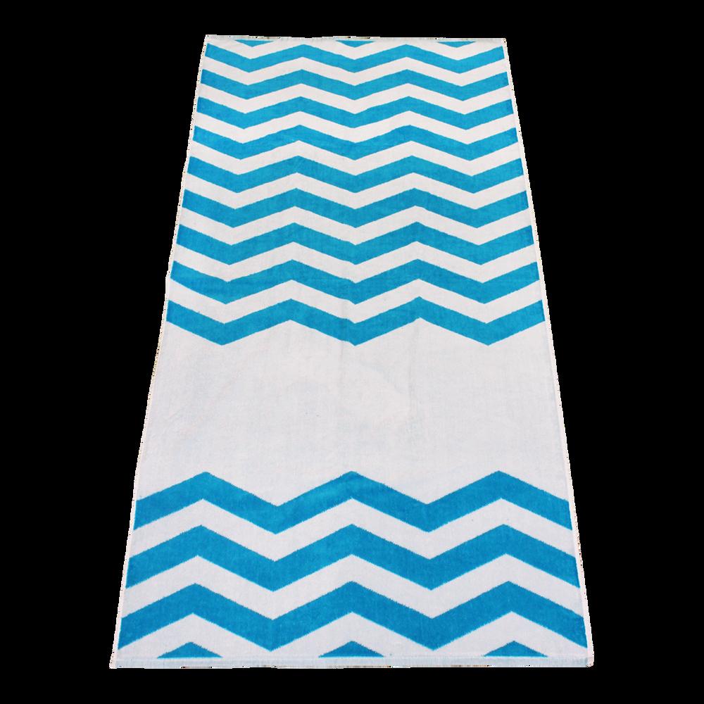 New Custom Chevron Beach Towels