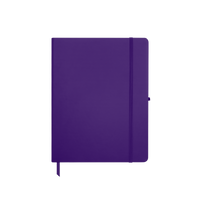 Purple Medium Soft Faux Leather Journal Thumb