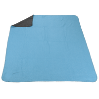 Teal/Grey (20538) Two Tone Euro Throw Thumb