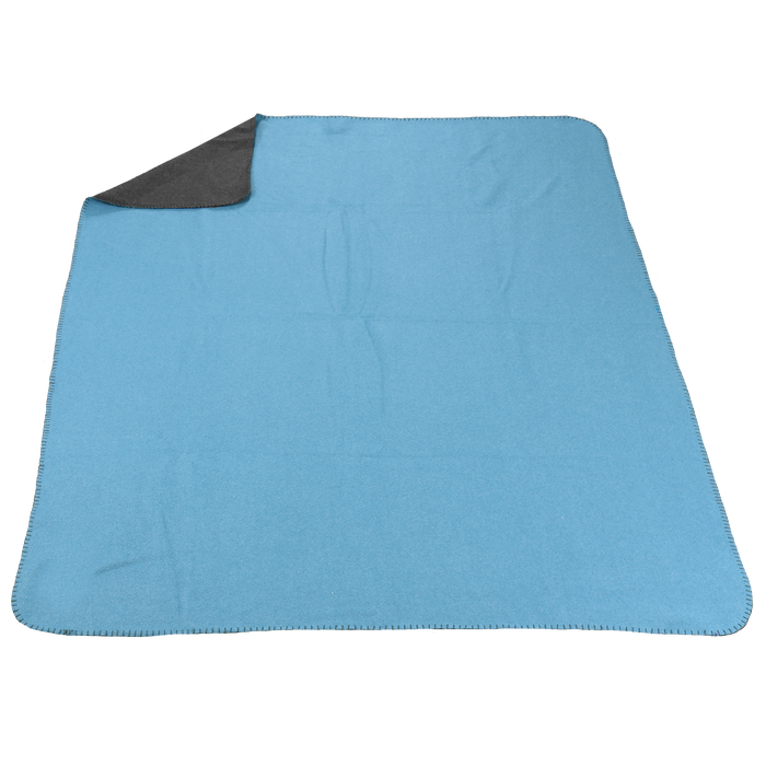 Teal/Grey (20538) Two Tone Euro Throw