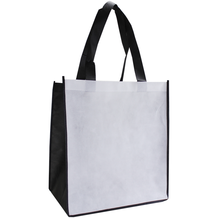 White Full Color Big Tex Grocery Bag
