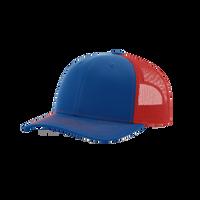 Royal/Red Richardson Trucker Snapback Hat Thumb