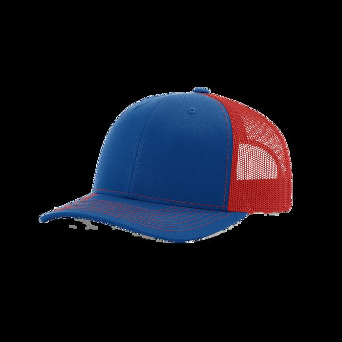 Royal/Red Richardson Trucker Snapback Hat