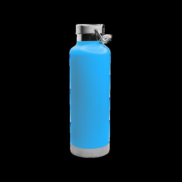 Matte Aqua Vacuum Insulated Canteen