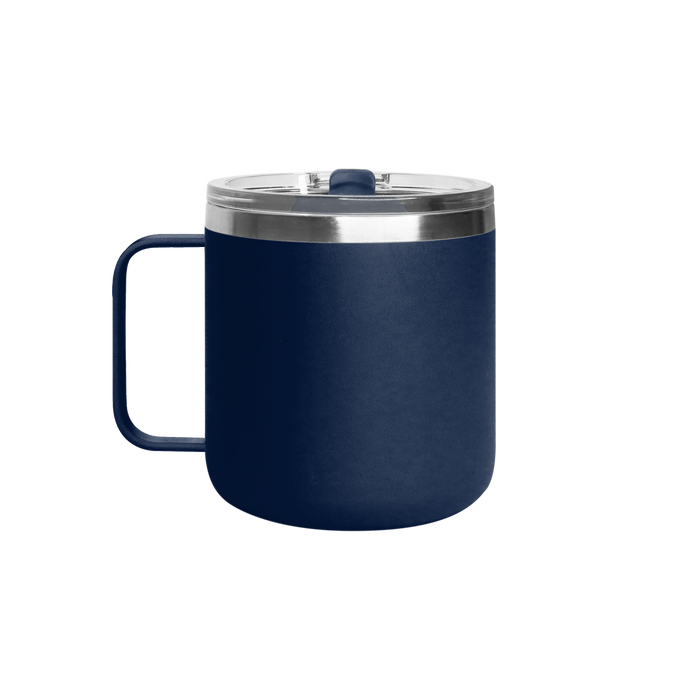 Matte Navy Stainless Steel Insulated Camper Mug