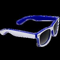White/Royal Blue Daytona Sunglasses Thumb