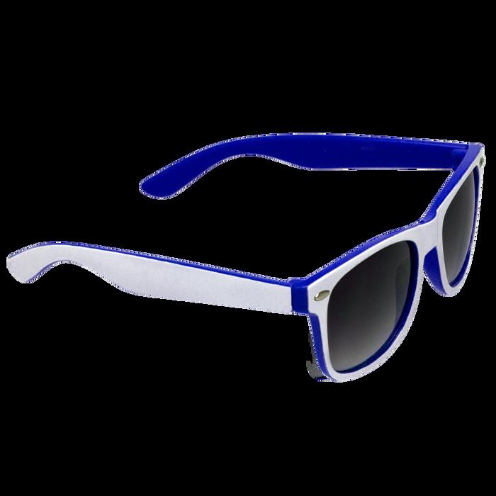 White/Royal Blue Daytona Sunglasses