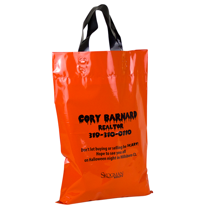Jack-O-Lantern Safety Tips Bag