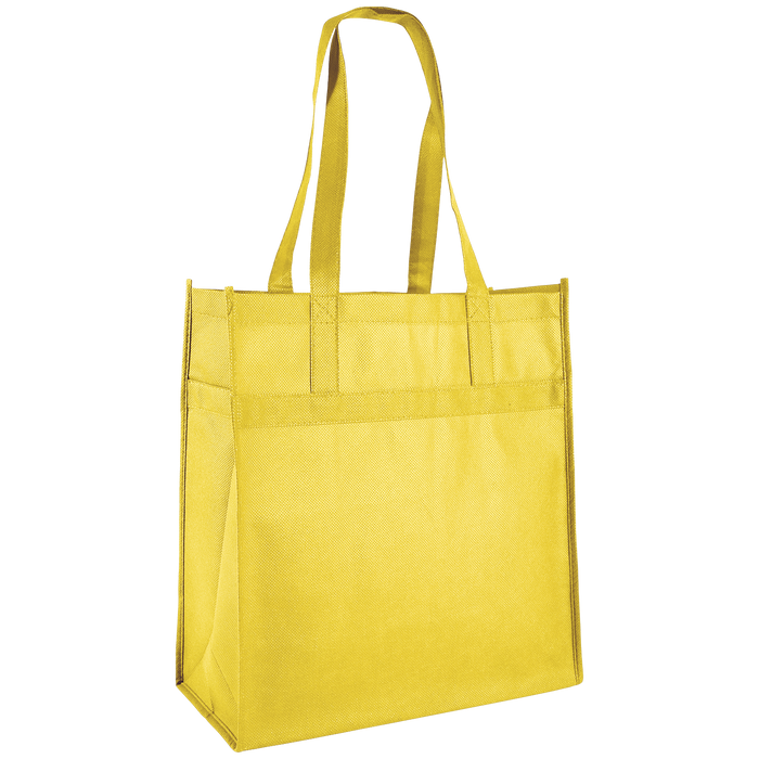 Yellow Little Tex Grocery Bag
