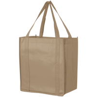 Light Khaki Thrifty Grocery Tote Thumb