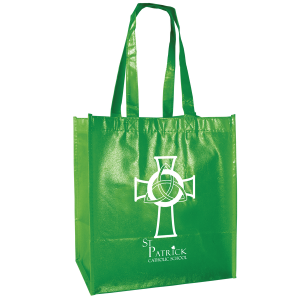 laminated bags,  reusable grocery bags,